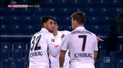Vincenzo Grifo & Florian Niederlechner – Arminia Bielefeld v SC Freiburg 1