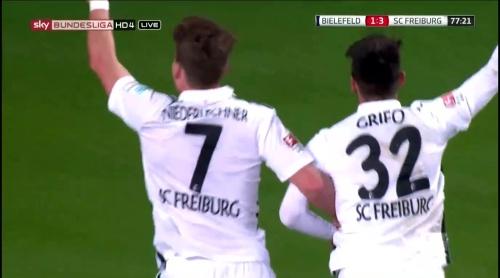 Vincenzo Grifo & Florian Niederlechner – Arminia Bielefeld v SC Freiburg 2