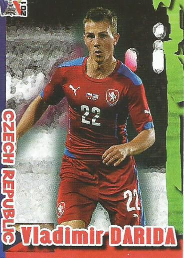 Vladimir Darida - Czech Republic - Euro 2016 Schoolshop sticker