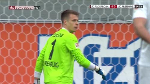 Alexander Schwolow – Paderborn v Freiburg 1