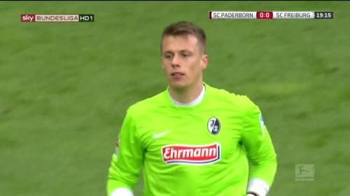 Alexander Schwolow – Paderborn v Freiburg 2