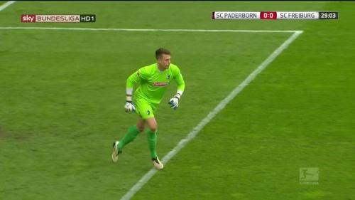 Alexander Schwolow – Paderborn v Freiburg 3