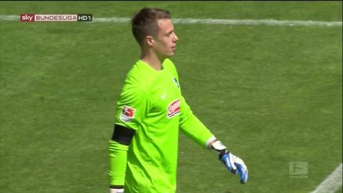 Alexander Schwolow – SC Freiburg v Heidenheim 2
