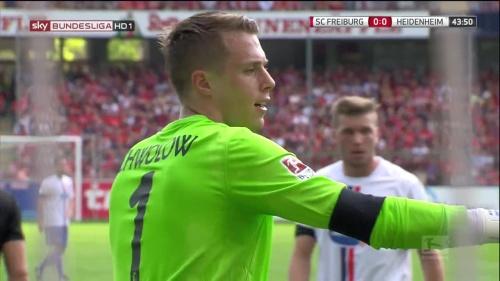Alexander Schwolow – SC Freiburg v Heidenheim 6