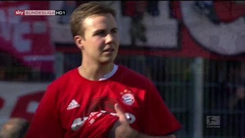 Bayern Munich – Bundesliga Meister 2015-16 – Mario Götze