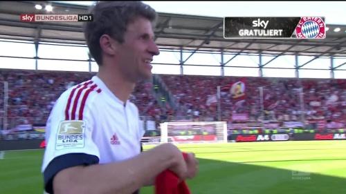 Bayern Munich – Bundesliga Meister 2015-16 – Thomas Müller 1
