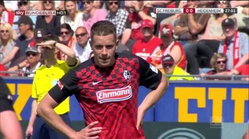 Christian Günter – SC Freiburg v Heidenheim 2