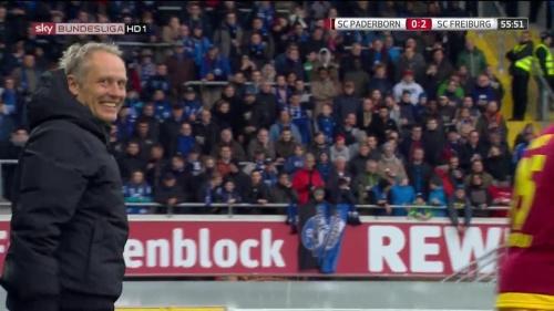 Christian Streich – Paderborn v Freiburg 2