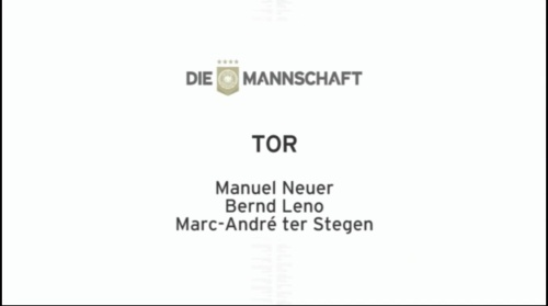 Die Mannschaft - EM Kader 2016 - Tor
