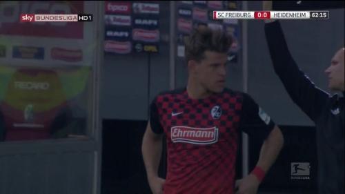 Florian Niederlechner – SC Freiburg v Heidenheim 1