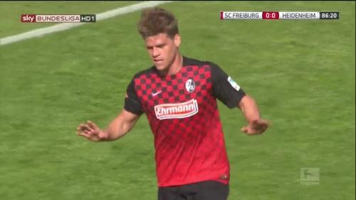 Florian Niederlechner – SC Freiburg v Heidenheim 3