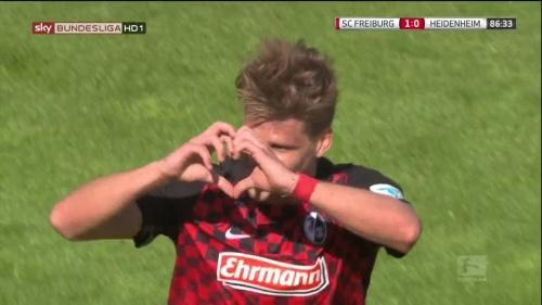 Florian Niederlechner – SC Freiburg v Heidenheim 4