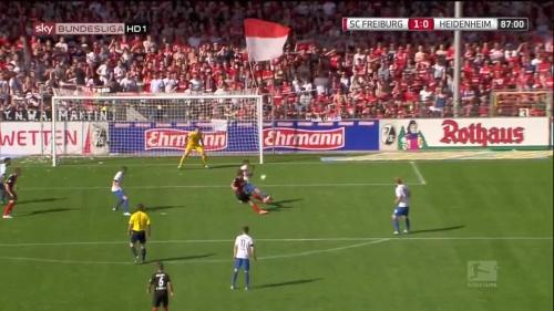 Florian Niederlechner – SC Freiburg v Heidenheim 5