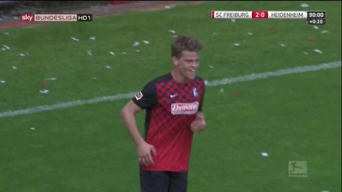 Florian Niederlechner – SC Freiburg v Heidenheim 6