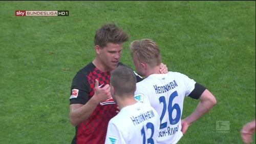 Florian Niederlechner – SC Freiburg v Heidenheim 8