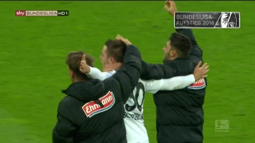 Frantz, Günter & Grifo – Paderborn v Freiburg 1