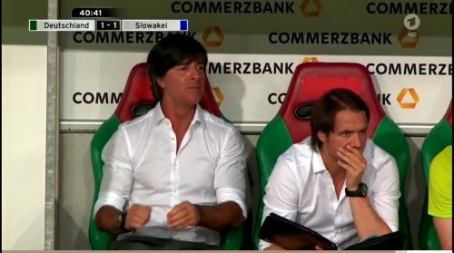 Joachim Löw – Deutschland v Slowakei 1st half 12