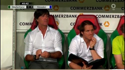 Joachim Löw – Deutschland v Slowakei 1st half 13