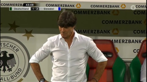 Joachim Löw – Deutschland v Slowakei 1st half 16