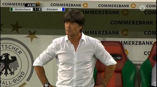 Joachim Löw – Deutschland v Slowakei 1st half 17