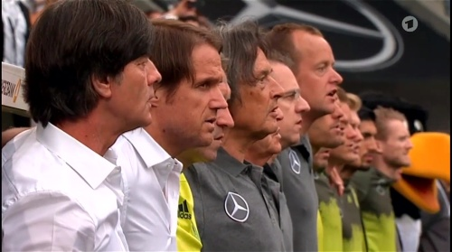 Joachim Löw – Deutschland v Slowakei 1st half 2