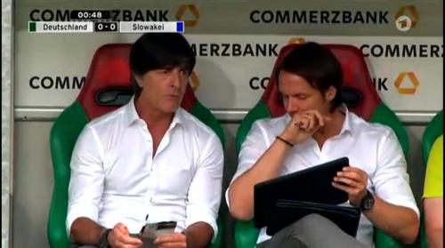 Joachim Löw – Deutschland v Slowakei 1st half 20
