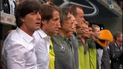 Joachim Löw – Deutschland v Slowakei 1st half 3