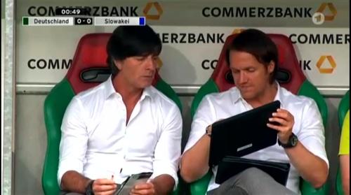 Joachim Löw – Deutschland v Slowakei 1st half 4