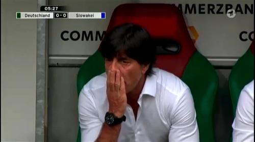 Joachim Löw – Deutschland v Slowakei 1st half 5