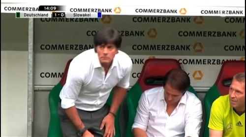 Joachim Löw – Deutschland v Slowakei 1st half 6