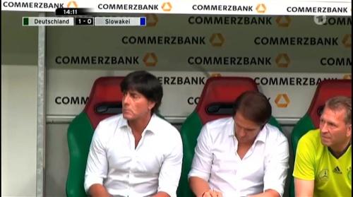 Joachim Löw – Deutschland v Slowakei 1st half 7