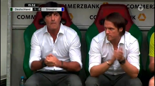 Joachim Löw – Deutschland v Slowakei 1st half 8