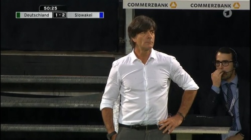 Joachim Löw – Deutschland v Slowakei 2nd half 18