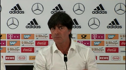 Joachim Löw – Deutschland v Slowakei PK 10