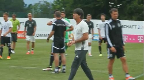 Joachim Löw – DFB team v U20 team 1