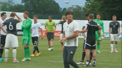 Joachim Löw – DFB team v U20 team 2
