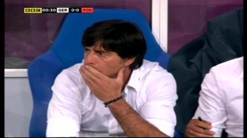 Joachim Löw – Germany v Portugal (EM 2012) 1