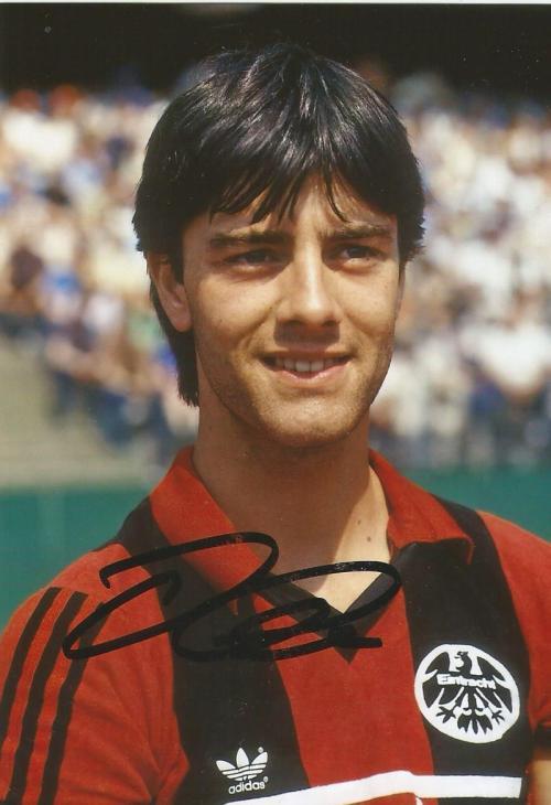Joachim Löw – signed Eintracht Frankfurt picture