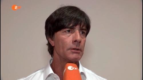 Joachim Löw – ZDF heute journal 30-05-16 2