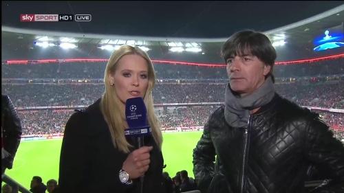 Joachim Löw half-time interview – Bayern v Atletico 15-16 1