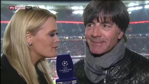 Joachim Löw half-time interview – Bayern v Atletico 15-16 3