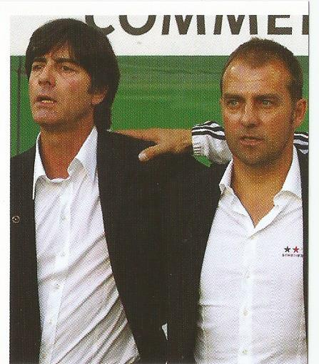 Joachim Löw & Hansi Flick – die Nationalmannschaft 2012 sticker
