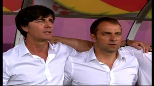 Joachim Löw & Hansi Flick – Germany v Portugal (EM 2012) 1