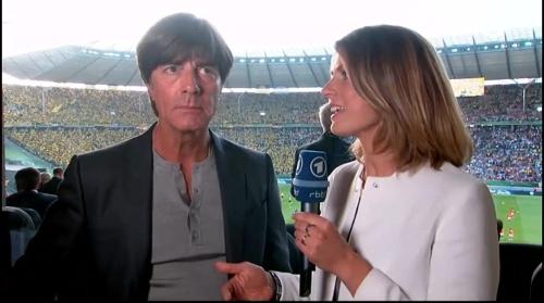 Joachim Löw pre-match interview - Bayern München v Borussia Dortmund (DFB Pokal final 2015-16) 1