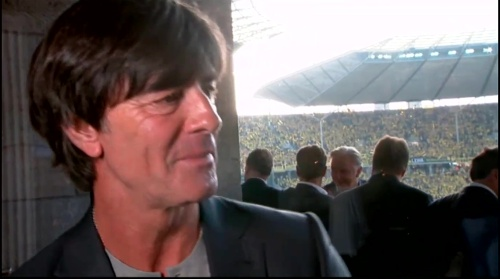 Joachim Löw pre-match interview - Bayern München v Borussia Dortmund (DFB Pokal final 2015-16) 10