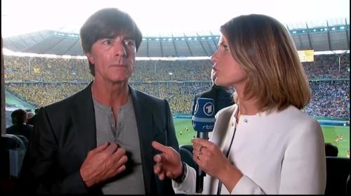 Joachim Löw pre-match interview - Bayern München v Borussia Dortmund (DFB Pokal final 2015-16) 2