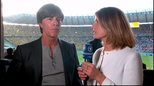 Joachim Löw pre-match interview - Bayern München v Borussia Dortmund (DFB Pokal final 2015-16) 3