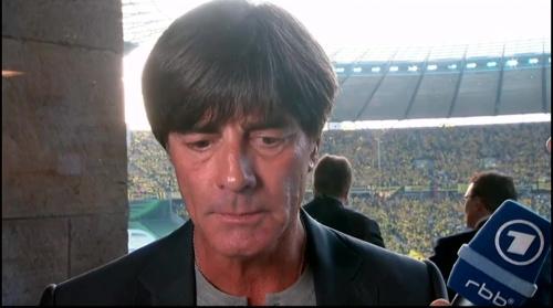 Joachim Löw pre-match interview - Bayern München v Borussia Dortmund (DFB Pokal final 2015-16) 6