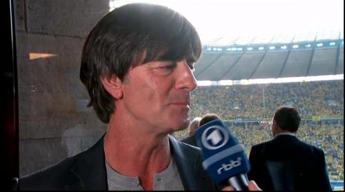 Joachim Löw pre-match interview - Bayern München v Borussia Dortmund (DFB Pokal final 2015-16) 8