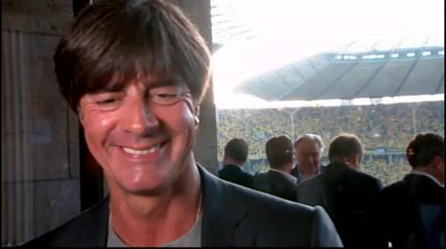 Joachim Löw pre-match interview - Bayern München v Borussia Dortmund (DFB Pokal final 2015-16) 9